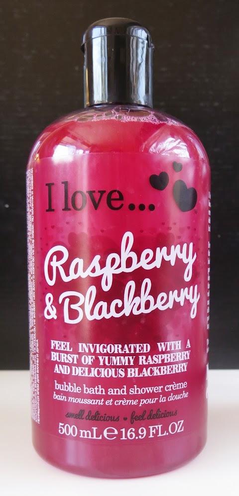 I love... Raspberry and blackberry dušo želė