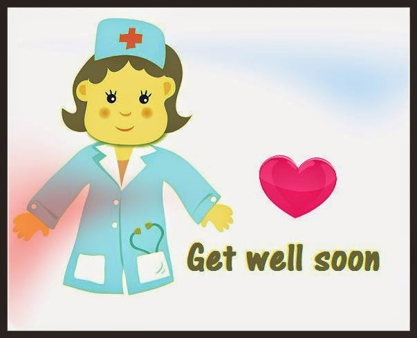 get well soon cute nurse