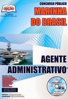 Apostila Marinha do Brasil Agente Administrativo Colégio Naval 2014