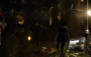 Screenshot Game Resident Evil 6