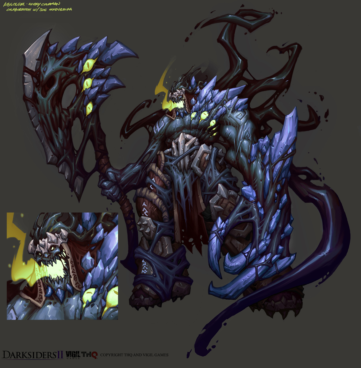 The Lantern Factory: Darksiders 2 Concept Art - The Super DUMP