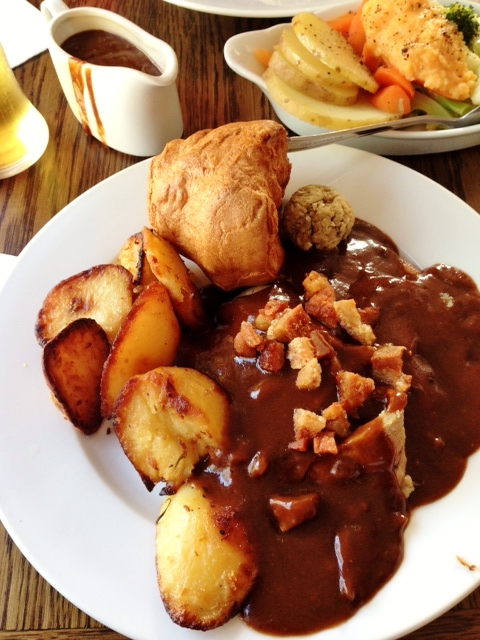 Sunday Roast at the Lock & Key, Newcastle