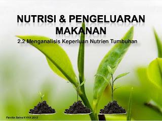 Nutrisi Dan Pengeluaran Makanan