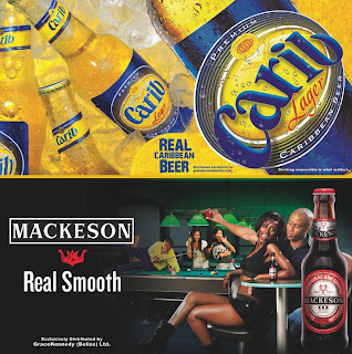 The new Carib Lager