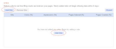 Cara Pasang Meta Tag Bing di Blog