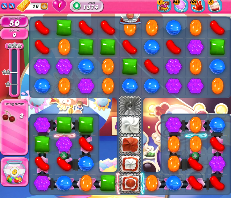 Candy Crush Saga 1374