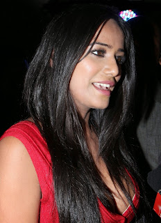 Poonam Pandey  Pictures in Red Dress at Malini