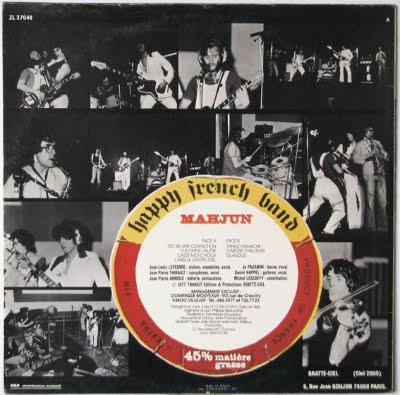 Mahjun - Happy French Band