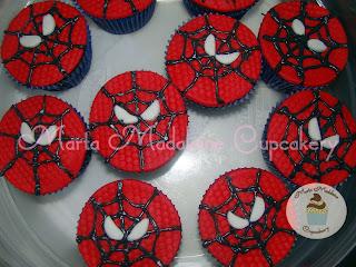 Cupcake_Spider_Man_Marta_Madaleine_Cupcakery