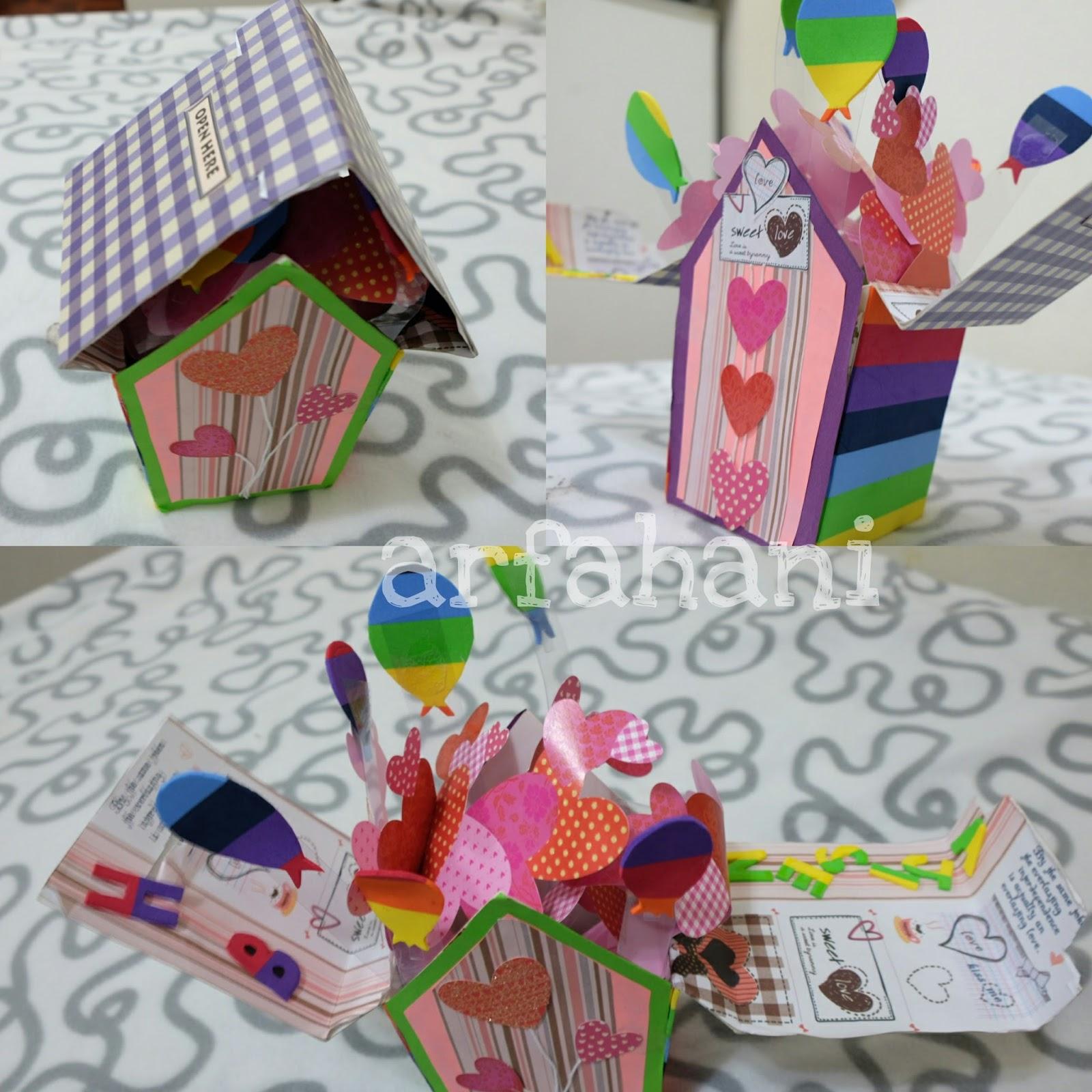 Arfahani.blogspot.my : Idea : Surprise Birthday Encik Suami