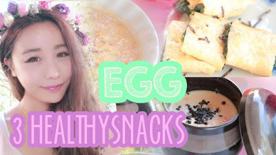 3 healthy low calorie and easy to cook snacks using eggs and vegetables