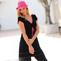Tricou-tunica usor de intretinut si feminin