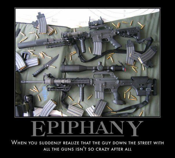 Preppers survival weapons
