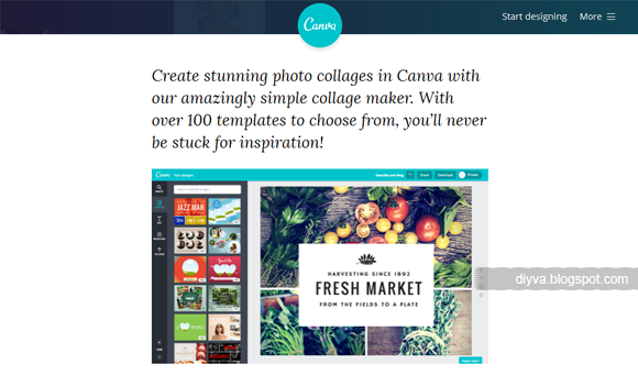 collage, template, free, online, Canva