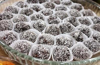 Oktay Usta Çikolatalı Truff Tarifi Yeşil Elma