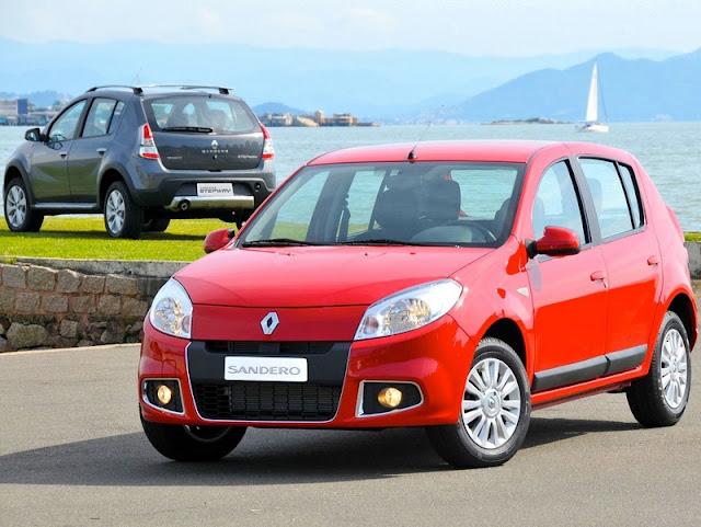 INMETRO 2012: carros mais econômicos do Brasil - Renault Sandero