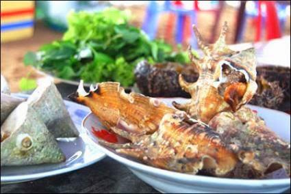 Đặc sản Vĩnh Hy - Ninh Thuận