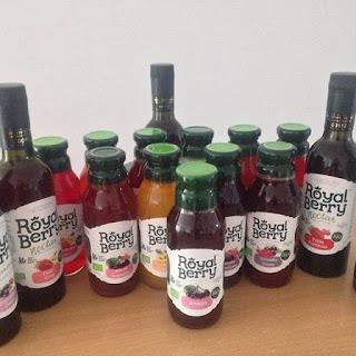 Jus et nectars Royal Berry