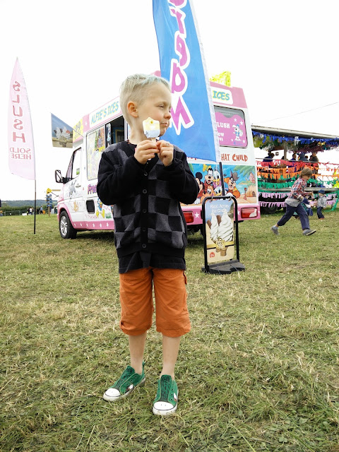 Farm Fest 2015 Ice Cream Van