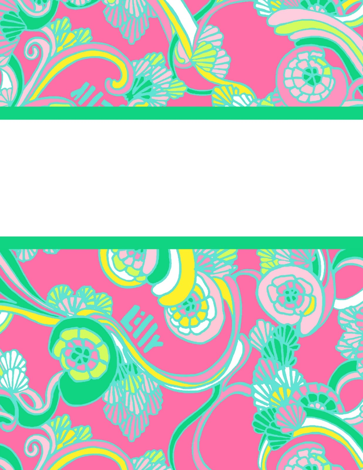 With lilly for the third time lilly pulitzer binder covers 2015