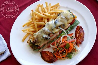 Gluten Free in Bali - Cascades Restaurant Mediterranean Bruschetta