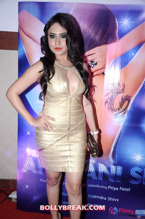 Priya Patel - (2) - Hot Tv Babes at Audio release of 'Anjaani Si' album