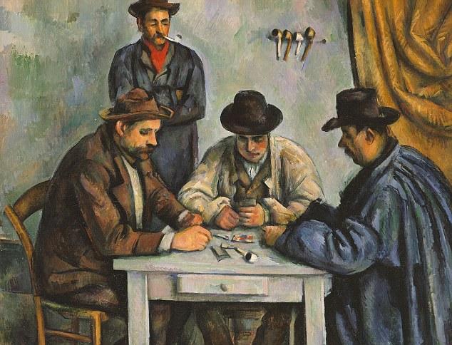 Lukisan termahal dunia, The Card Players karya paul cezanne 1892