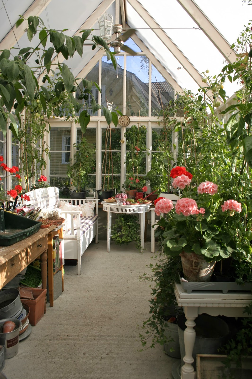 Köksträdgården: bygga växthuskurs i september