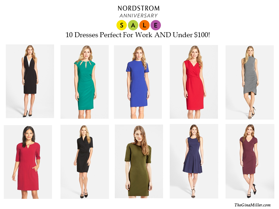 Nordstrom Anniversary Sale, Cute Dresses for Work, Dresses for work, work wardrobe