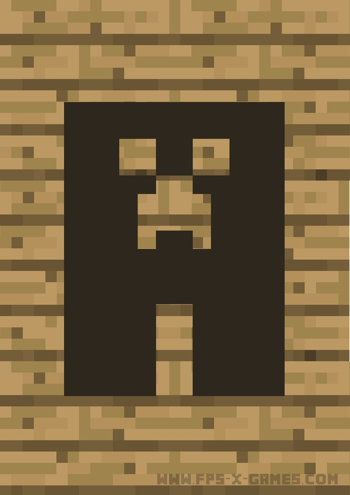 Minecraft Printable Banner Template Example