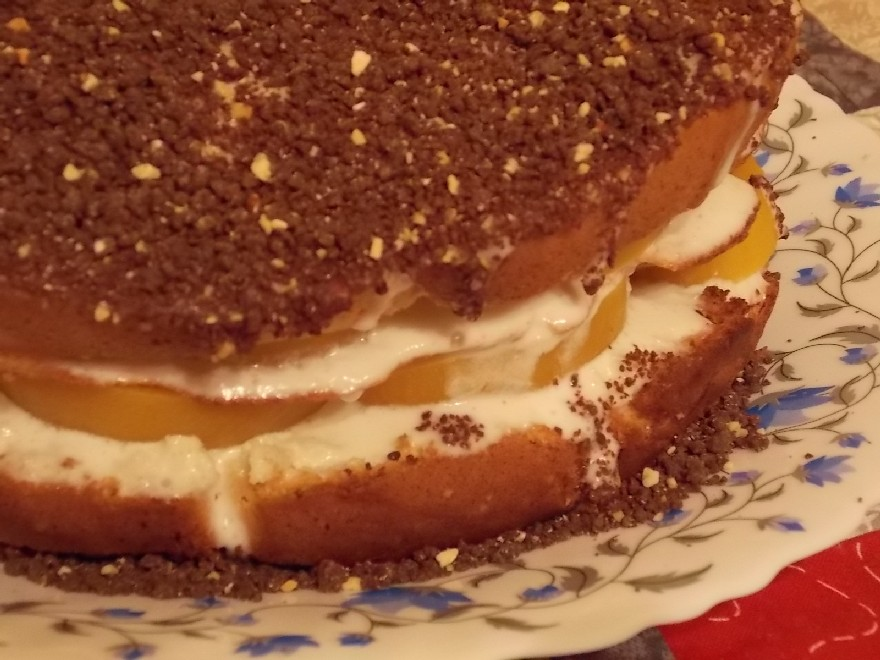 Шоколадный пирог на ряженке