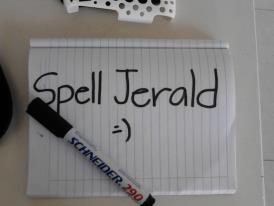 Spell Jerald