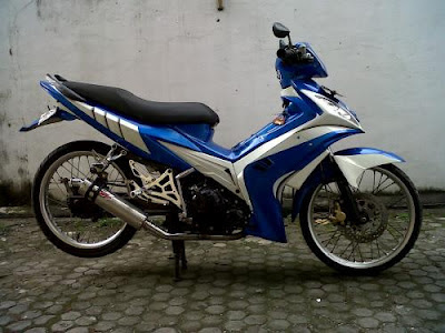Jupiter MX Modifikasi Minimalis