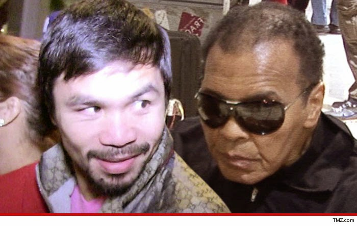 Muhammad Ali , Mayweather