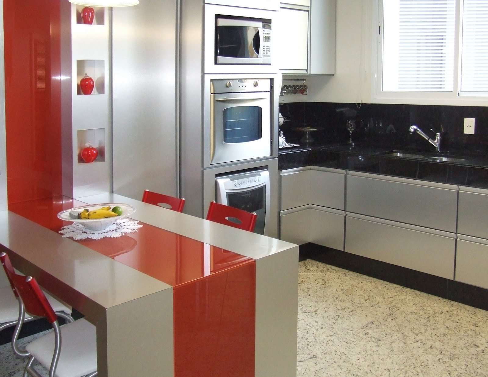chave: cozinhas coloridas; cozinha colorida; decoração de cozinhas  #8B3024 1600 1236