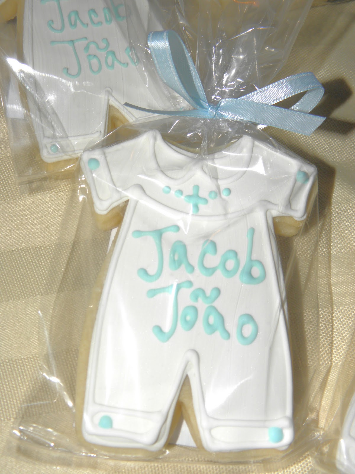 Cookie dreams cookie co boy christening cookie favors - Giveaways baptism ...