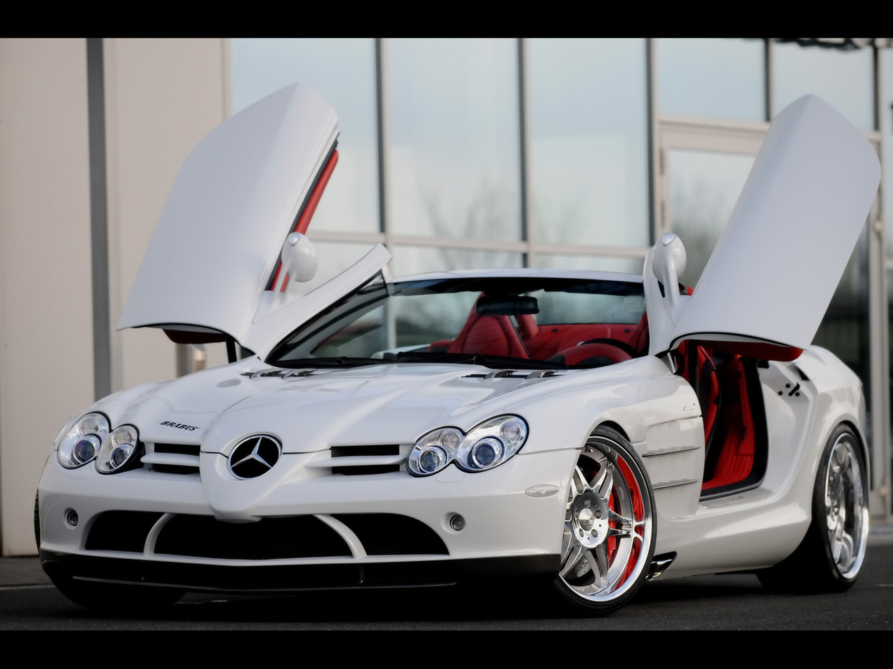 Luxury classic cars mercedes benz mclaren slr for Exotic mercedes benz
