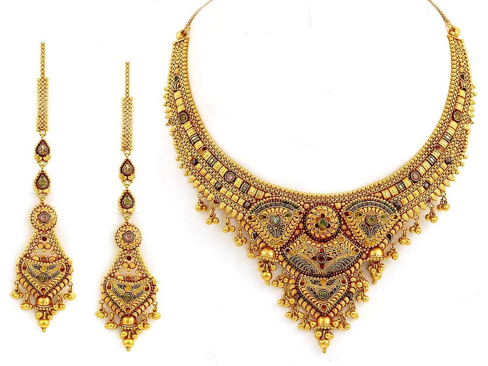 Latest Design of Gold Necklace - Latest Design Updates