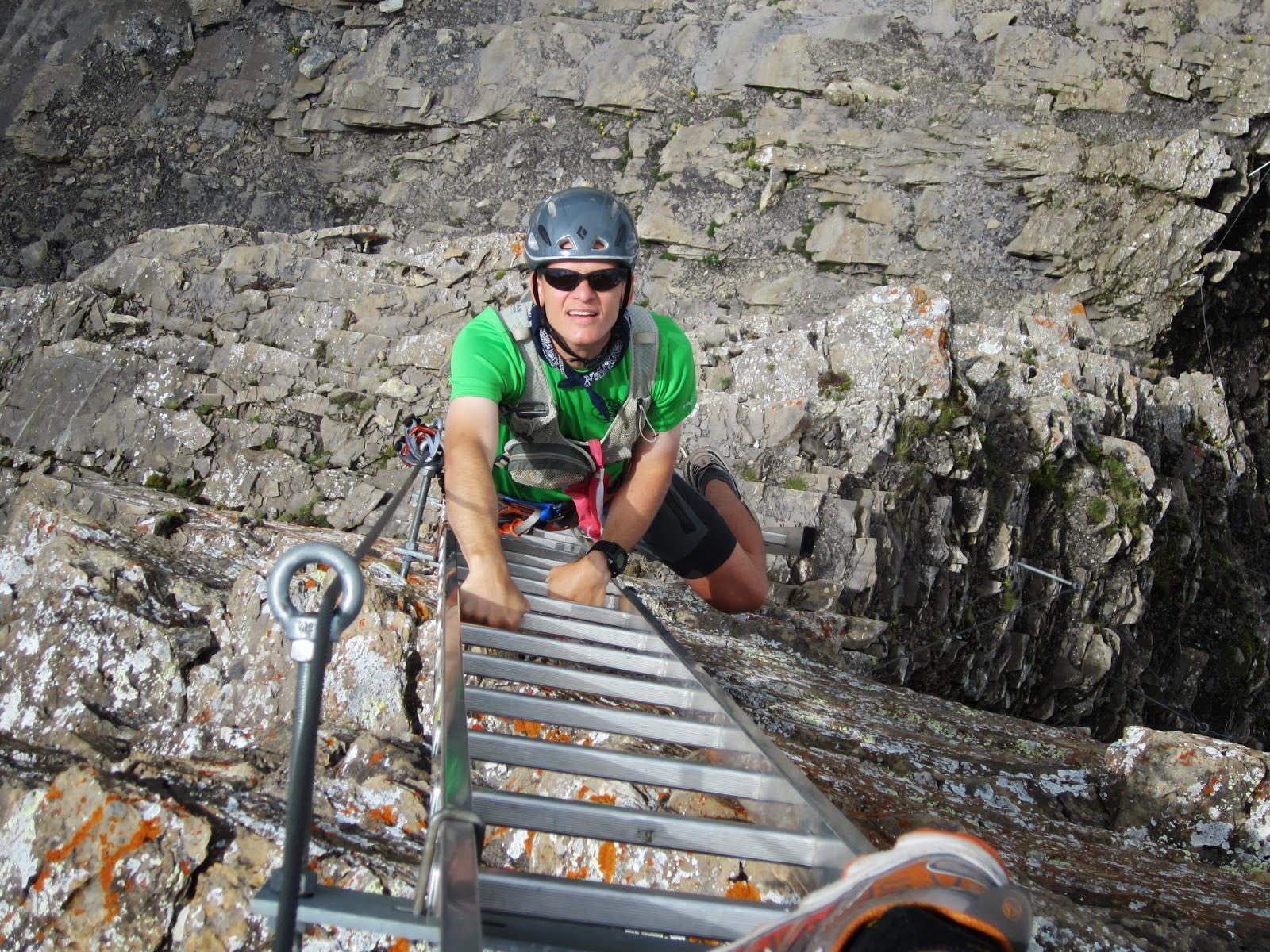 Klettersteig Schwarzhorn : Climbing trip reports: schwarzhorn klettersteig
