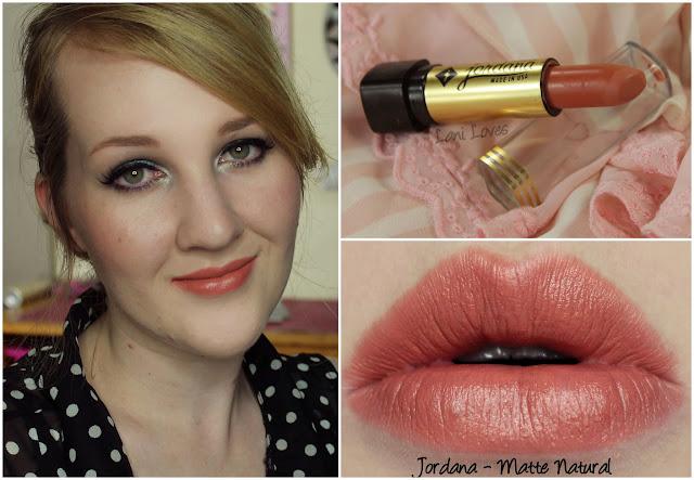 Jordana Matte Natural lipstick swatch