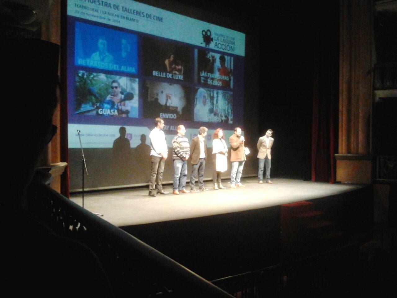 VII muestra de talleres de cine la laguna acción 2.014