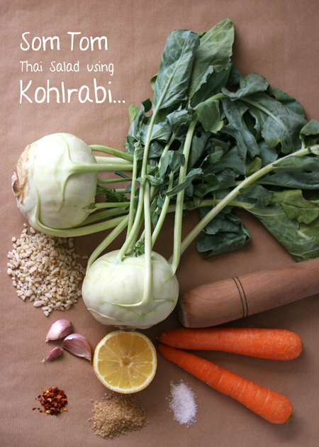 kohlrabi recipe photo food styling