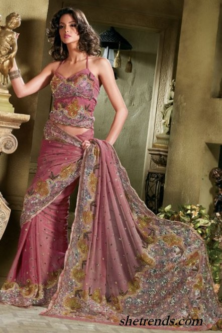 Latest sarees collection 2011