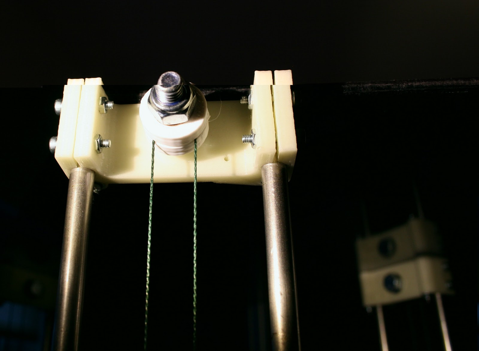 Reprap development and further adventures in diy 3d for Spectra fishing line