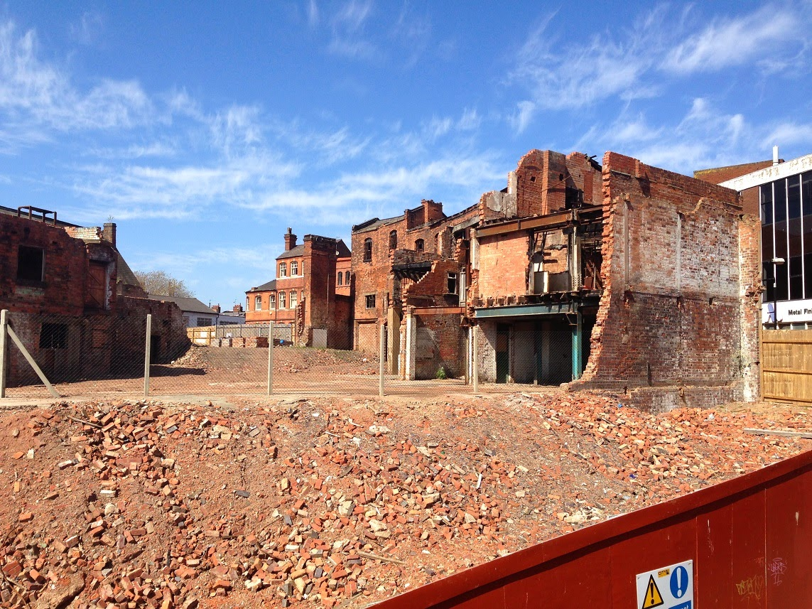 Urban abandonment, decay and regeneration in Legge Lane, Birmingham