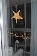 Jul på balkongen