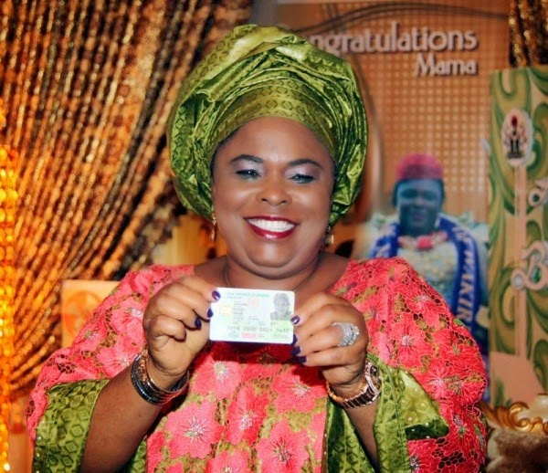 Photos: Patience Jonathan Gets Her National Identity Card in Abuja 2