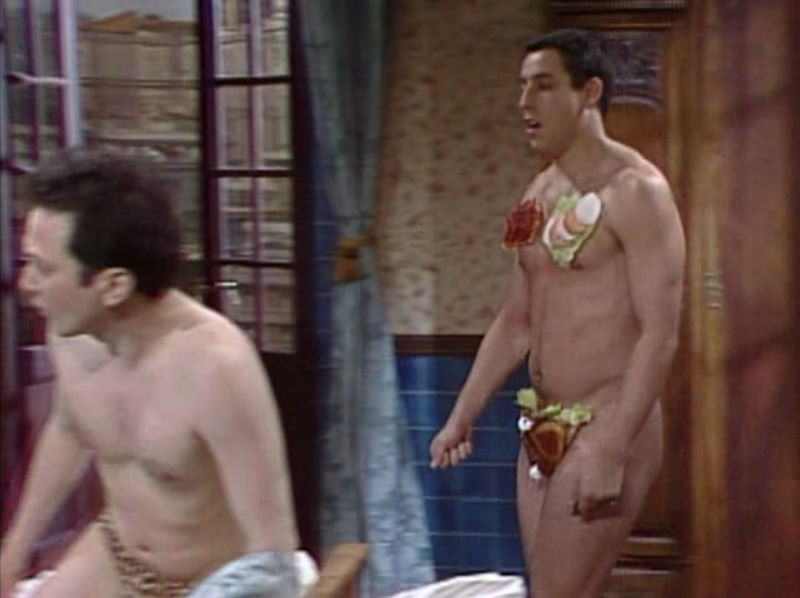 adam sandler naked young