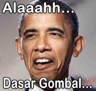 Alah Dasar Gombal Versi Obama gambar komen facebook