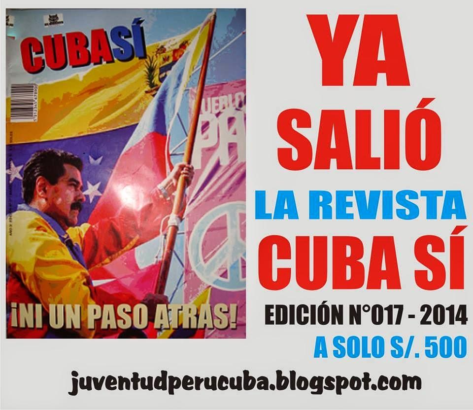YA SALIÓ LA REVISTA CUBA SÍ